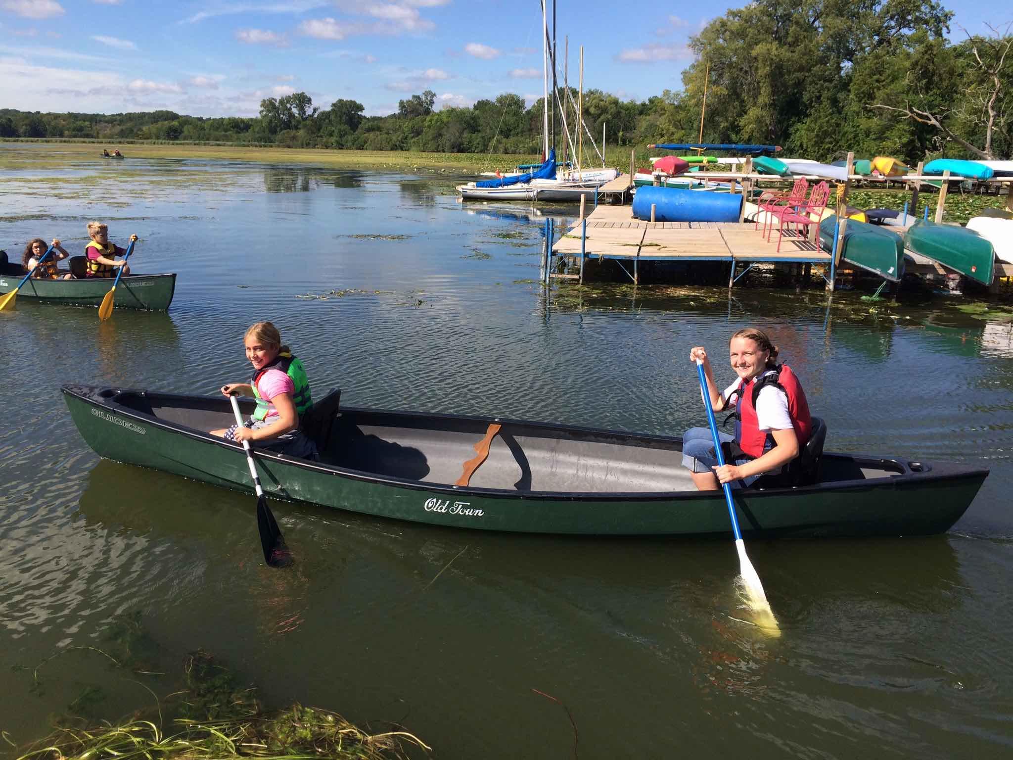 Lake Wingra Canoe Outing